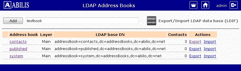 Example Of Address Book Creation